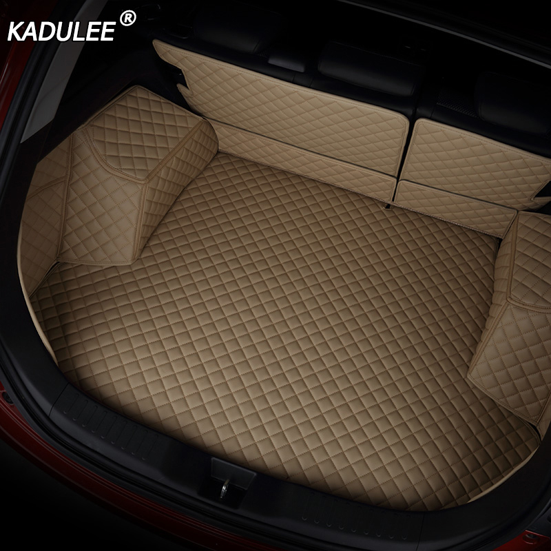 KADULEE car mat trunk for Volkswagen All Models jetta vw polo tiguan polo touran car styling car accessories custom cargo liner