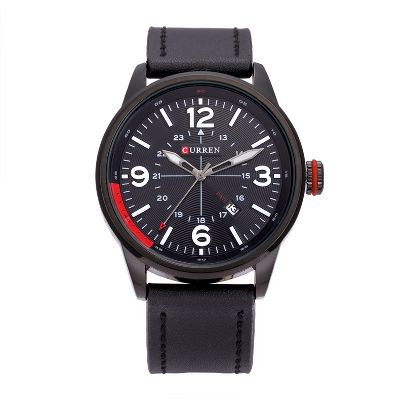 curren mens fashion casual watches wristwatch