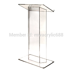 Pulpit FurnitureFree Shipping Hot Sell Deluxe Cheap Clear Acrylic Lecternacrylic Pulpit