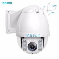 Inesun Outdoor PTZ IP Camera 2MP HD 1080P Mini IR High Speed Dome Camera 10X Optical