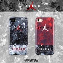 Чехол для iPhone 7 Новинка 2017 Super Star Air Jordan Чехлы для iPhone 6 6 плюс 6S плюс 7 Plus Телефон Защитная крышка ТПУ чехол AJ