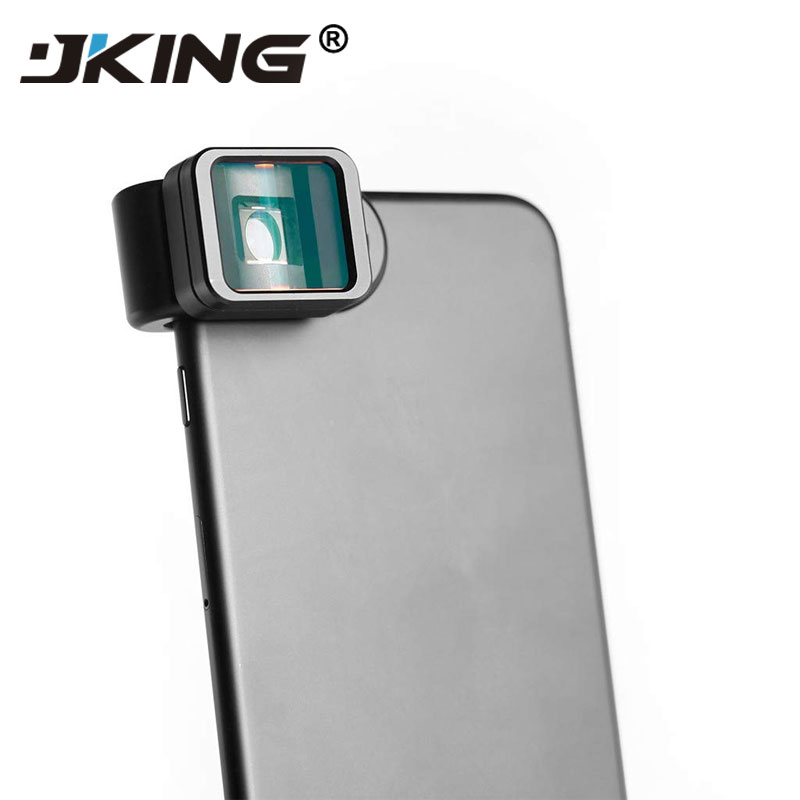 JKING Clipe Universal 1.33X Deformação Widescreen Lente Do Telefone para o iphone Samsung Android, HTC, LG, Nokia Telefone