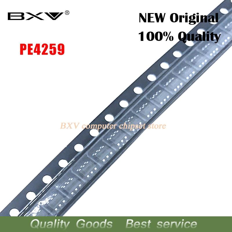 10PCS PE4259 SC70-6 PE4259 SOT23 SOT-363 New Original