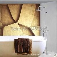 Современные Ванная комната Напольные дождь Насадки для душа и Handshower clawfoot дождя w6031 635