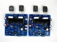 Reference music fax MX50 circuit AC dual 18V to dual 34V 2.0 channel 100W C4468 A1695 power amplifier board