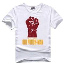 One Punch Man Print T Shirt