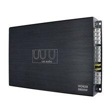 Автомобильный усилитель 12 В 4-канальный 6800 Вт сабвуфер Sub Bass 4 Ом класс A/B усилитель спикер усилители автомобиля аудио стерео