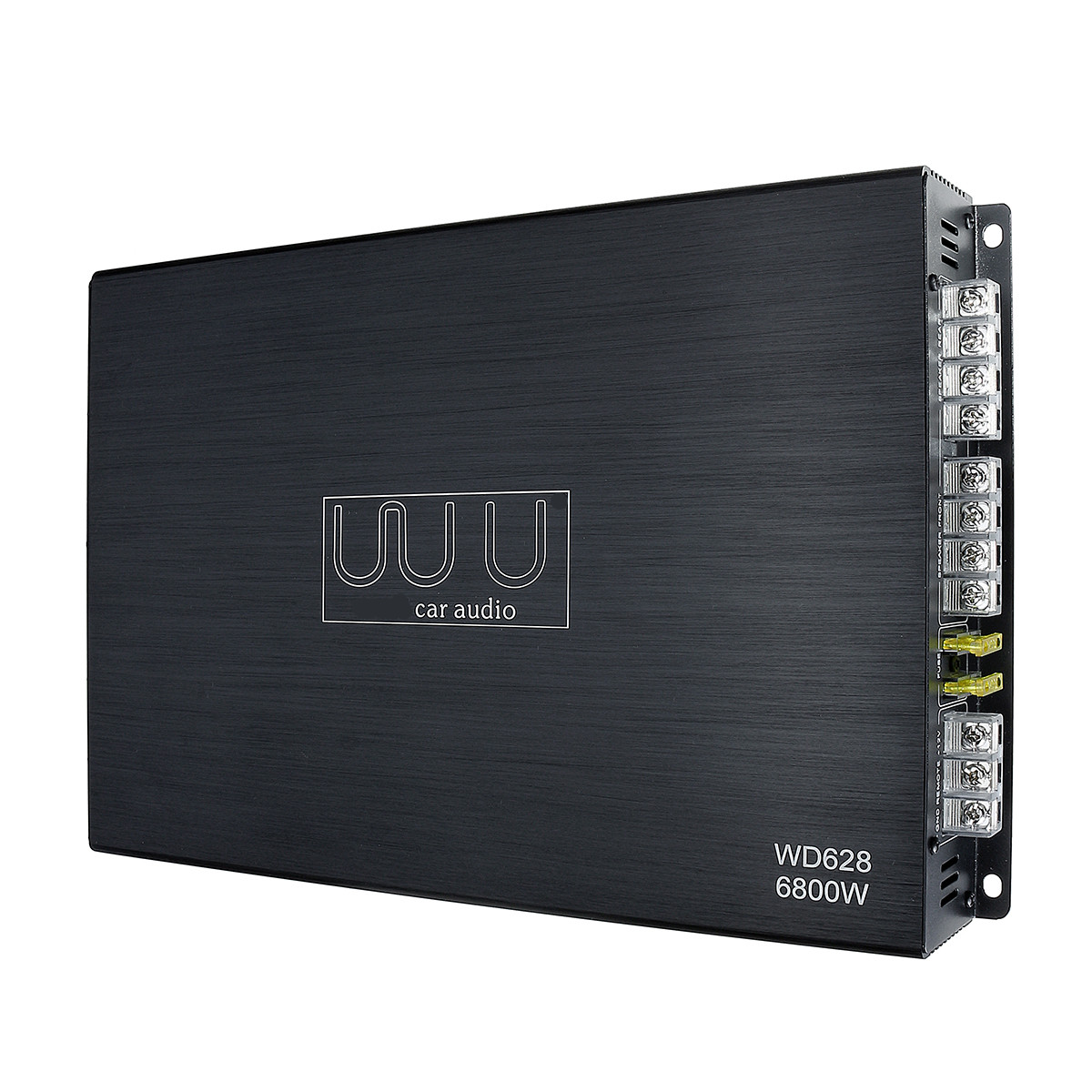 Car Amplifier 12V 4-Channel 6800W Subwoofer Sub Bass 4 ohm Class A/B Amp Speaker Amplifiers Car Audio Stereo