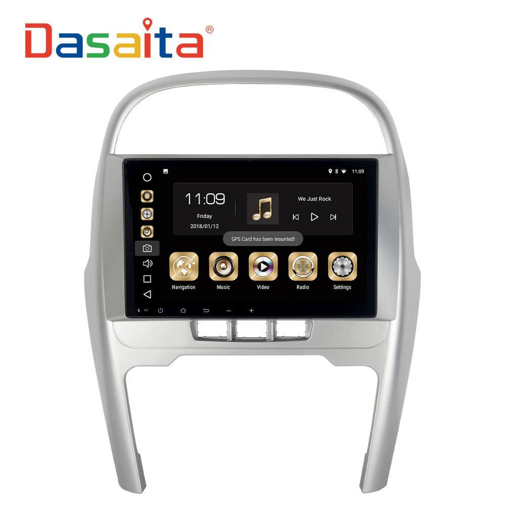 Dasaita 9 Android 8.0 Voiture GPS Lecteur pour Chery Tiggo 2014-2015 avec 4g + 32g octa Core Auto Stéréo Navi Radio Multimédia