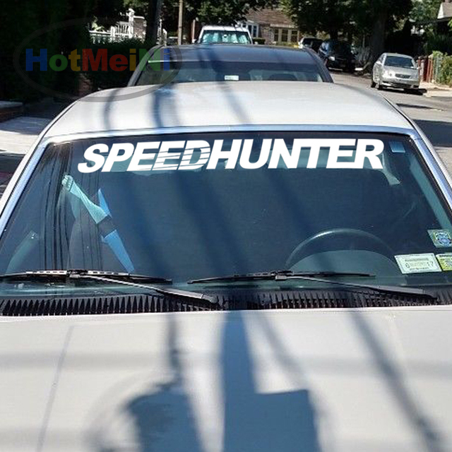 10010cm cool graphic car styling speedhunter fornt windshield banners decal vinyl car sticker jdm