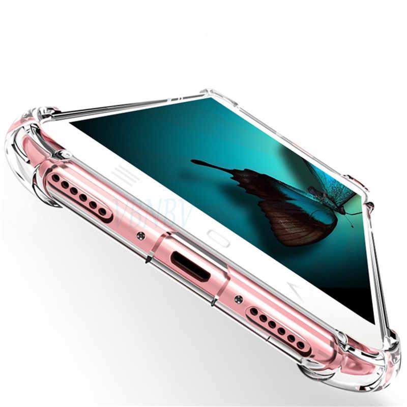 Transparan TPU Silicone Case untuk HUAWEI Mate 20 10 Lite 9 Pro Nova 3 3i 3E P20 P10 Lite Kehormatan 8 9 Lite 10 6X 7A 8C 8X Cover