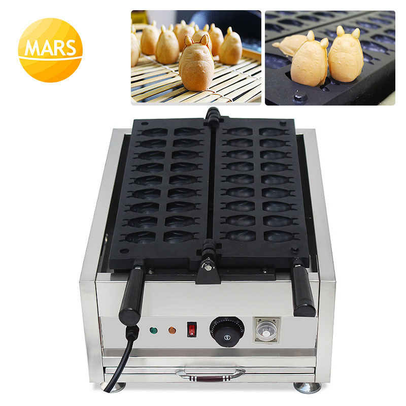 Mars 110V 220V Chinchillas Shape Automatic Electric Japanese Ningyo-yai Waffle Maker Machine Doll Cakes Making Baker