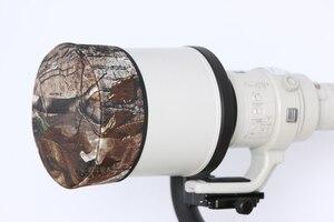 Image 2 - ROLANPRO DSLR Lens Cap Camouflage Jacket Short Telephoto Lens Guns Clothing for Sigma Tamron Canon Nikon 300/400/500/600/800mm