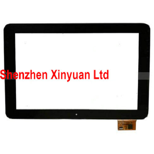 Black new 10.1 Telefunken TF-MID1002G Tablet 257*170 touch screen Touch panel Digitizer Glass Sensor Replacement Free Shipping brand new vas5052a detector touch screen lcd screen well tested working three months warranty page 5
