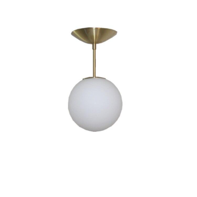 купить Modern Milk Globe Glass ceiling Lights For Dining Room Bar Restaurant Deco Kitchen Room Hanging Lamp Fixtures по цене 5560.84 рублей