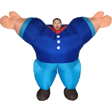 Mr Fitness Sailor Weight Lifting Muscle Man Hercules Funny Inflatable Cosplay Costumes Halloween Bar Party Outfit Promotion mr muscle page 9