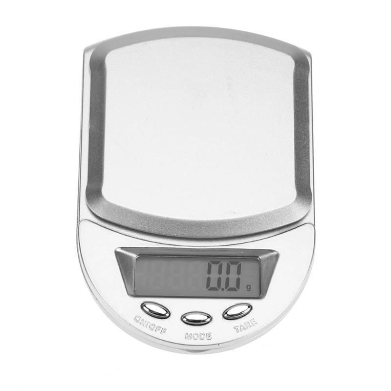 High-Precision Digtial 0.1g Electronic Balance 500gx0.1g Pocket Jewelry Weighing Scale Libra Gram Mini LED Digital Scale