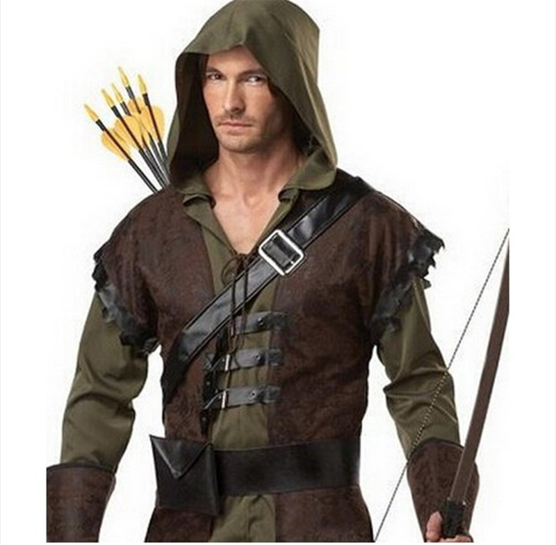 buy mens robin hood halloween costume thieves robin cosplay cosplay plus size game of thrones medieval warrior costume from