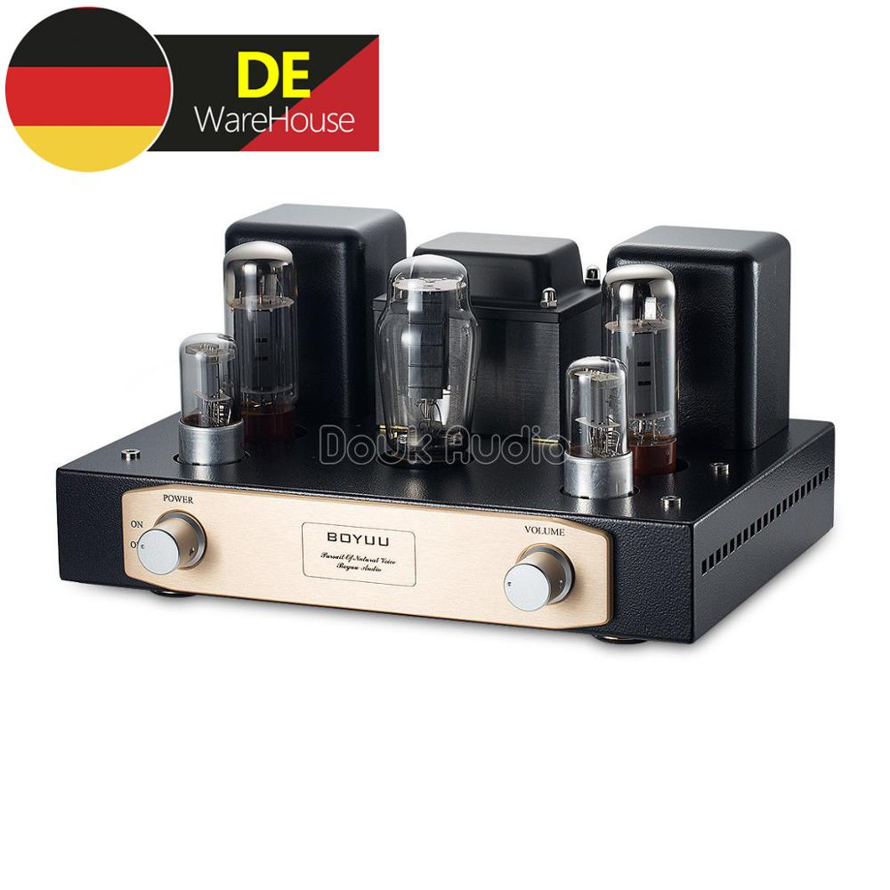 EL34 6N9P Vacuum Tube Amplifier Single-ended Pure Class A HiFi Stereo Amp 12W*2