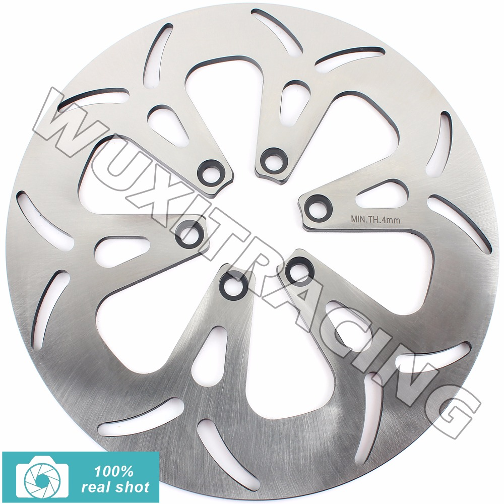 New Front Brake Disc Rotor for SUZUKI VS 600 700 750 GLF Intruder GLF-GLP-H GLF-GLP 86 87-91 95 96 VS 800 1400 GL/GLP 87-08 09 front brake disc rotor for suzuki vs700 glf glp h vs750 glf glp j intruder vs800 gl n vs1400 gl glp s83 boulevard 05 06 07 08 09