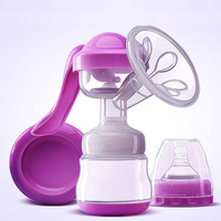 Manual Breast Pump Powerful Baby Nipple Suction With Feeding Milk Bottles Breasts Pumps Bottle Sucking in 2019