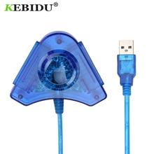 Adapter Converter-Cable Gamepad Usb-Controller Playstation Dual-Ports Cd-Driver PS2 Kebidu