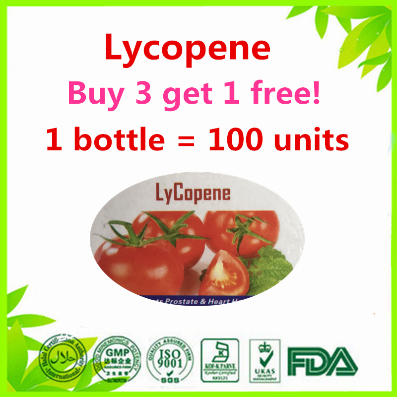 Lycopene Supports Prostate & Heart Health 100 units (Buy 3 get 1 free) naturalcure cure prostatitis caps ules cure prostate diseases relieve prostate pain and help solve urination problems