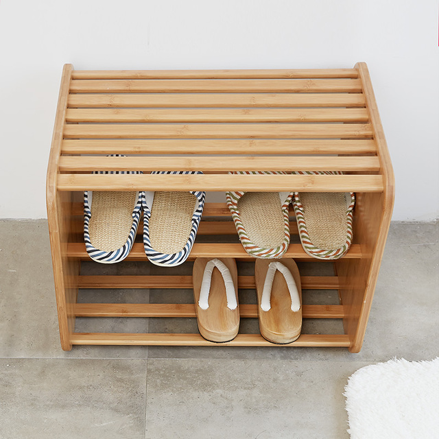 Shoe Rack Stand 2 Ties Shoes Cabinet Stool Chair For Changing Shoes Home  Furniture