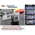 Para Mercedes Benz W203 Clase 2001 ~ 2007 Pistas Aparcamiento Inteligente Cámara/HD CCD de copia de seguridad Cámara de Marcha Atrás/Cámara de Visión Trasera