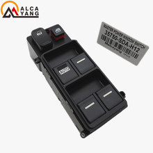 Brand New Car Electric Power Window Master Control Switch 35750-SDA-H12 for 2003-2007 Honda Accord 2.4L