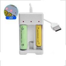 Новая акция AA/AAA литий-ионная аккумуляторная батарея USB 3 слота универсальное интеллектуальное зарядное устройство адаптер USB штекер