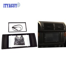 2Din Car Radio CD DVD GPS Stereo Panel Dash Mount Trim Kit Interface Frame Fascia for BMW 5 series (E39)/X5(E53) 1995-2003