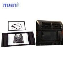 2Din Автомобильная магнитола с CD DVD gps стерео Панель Даш Гора отделка комплект Интерфейс рамки Фризовая Подходит для BMW 5 серии (E39)/X5 (E53) 1995-2003