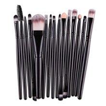 15Pcs Cosmetic Makeup Brush Women Foundation Eyeshadow Eyeliner Lip Make Up Eye Brushes Set