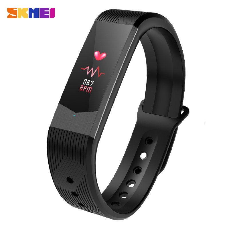 SKMEI 3D UI Smart Fitness Sleep Tracker Sport Outdoor Wristband Waterproof Heart Rate Blood Pressure Bracelet Men Women Watches