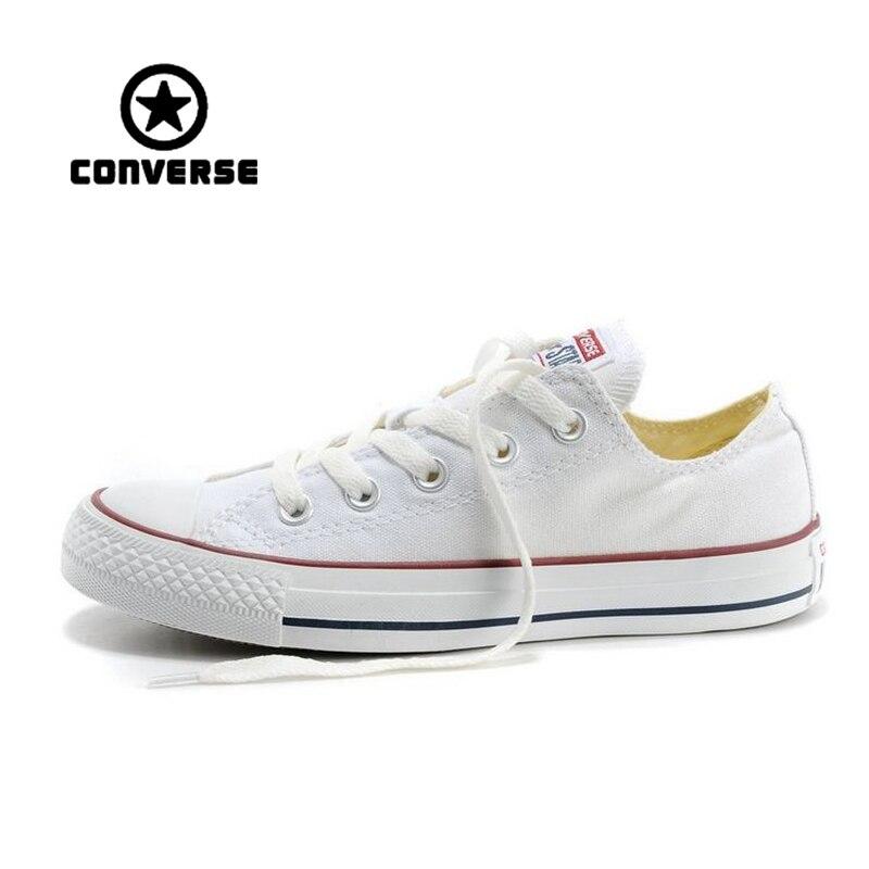 Аутентичные Converse классические дышащие парусиновые низкие кроссовки для скейтбординга унисекс анти-скользкие кроссовки мужские женские Но...