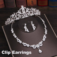Bridal Wedding Crown Headband Chinese Hair Accessories Jewelry King Princess Tiaras and Crowns Diadema Silver Head Piece Pageant(China)