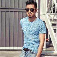 2017 Summer Fashion Men S T Shirt Casual Patchwork Short Sleeve T Shirt Mens Clothing Trend