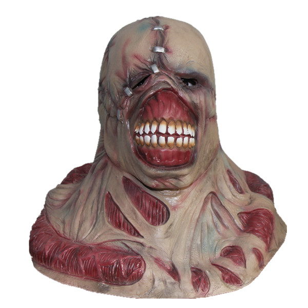 x merry toy resident evil tyrant horror mask mens cosplay props zombie famous movie costume - Zombie Props