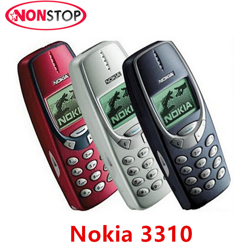 Nokia 3310 Unlocked GSM Refurbished Mobile-Phone Original Hot-Sel In-Stock
