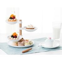 Nontoxic Durable Convenient Useful Pratical Dessert Rack Wedding Supplies Multi layer Tray Fruit Plate Cake Rack