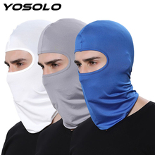YOSOLO Moto Full Face Mask Protective Outdoor Sport Headgear Mouth Cover Outdoor Biking Ski Breathable Dust proof Windproof Mask