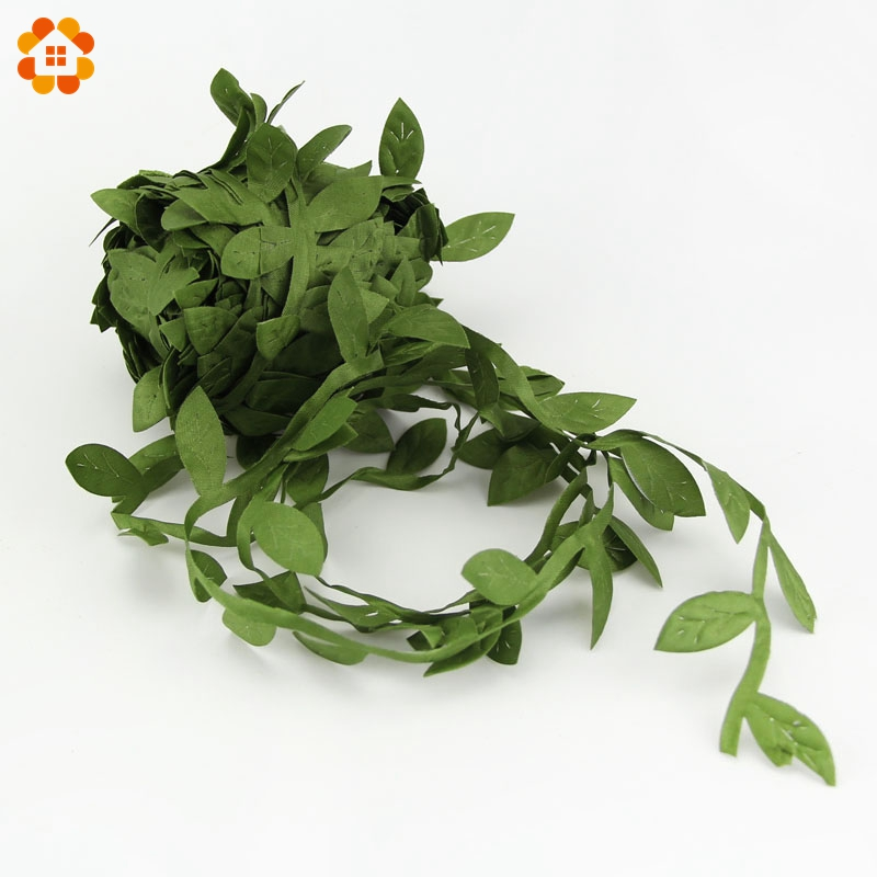 20m lot 3cm silk artificial leaf leaves flower for home for Artificial leaves for decoration