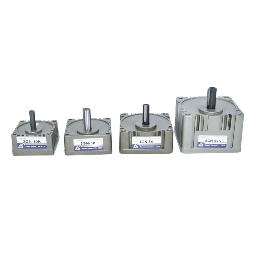 Gear Head Box 2GN 3GN 4GN 5GN Reducer Output Shaft 8mm 10mm 12mm 3K~180K for AC Induction Motor 200pcs 1210 180k 180k ohm 5% smd resistor