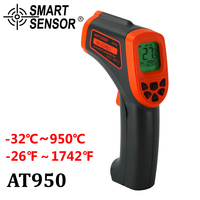 AT950 Digital Infrared Thermometer 32 950 C Non Contact Laser IR Temperature Gun Pyrometer Teste Aquarium