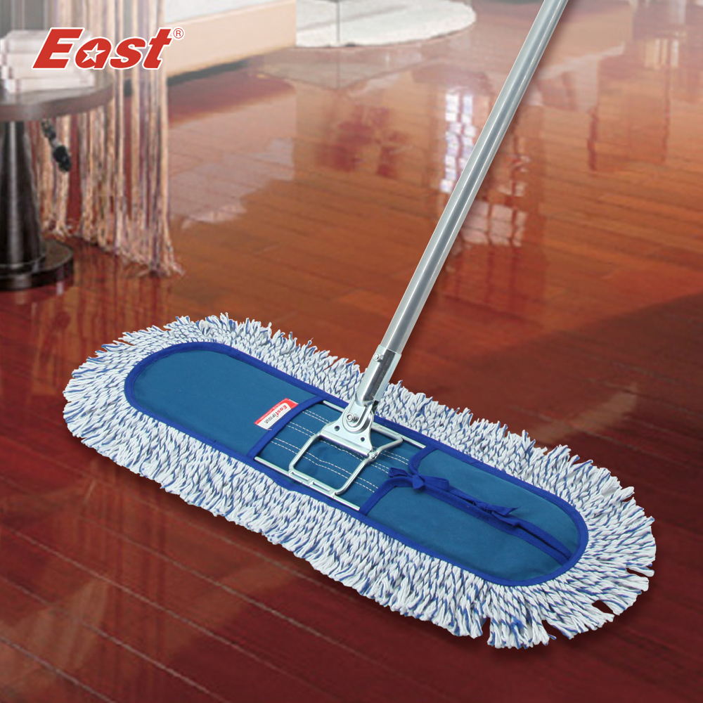 Dust mop for wood floors - East Wood Floor Flat Mop Large Household 360 Degree Spin Dry Magic Mop Rotating Mop