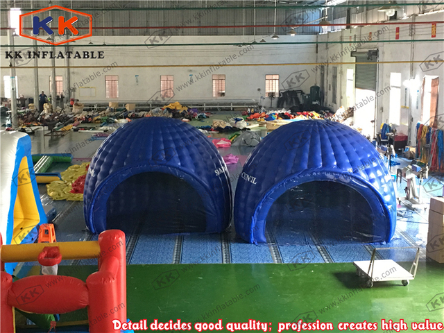 Half-Moon Inflatable Igloo Tent Stage Tent Air Dome Luna Tent & Half Moon Inflatable Igloo Tent Stage Tent Air Dome Luna Tent-in ...