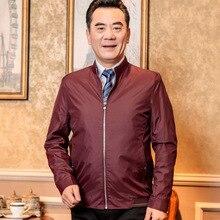 2017 New Fashion Business Elderly Warm Parka Men Long Sleeve Zipper Pockets Winter Jacket Men Silm Fit Tactical Outerwear Coats