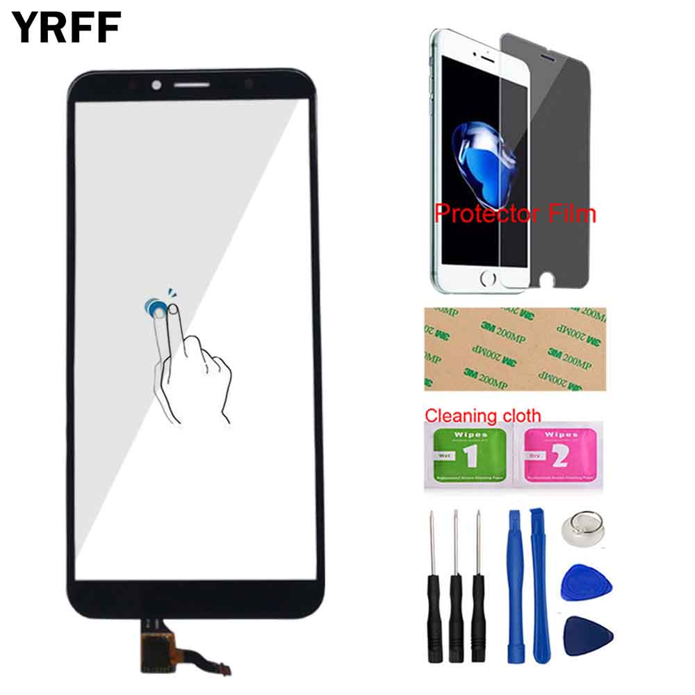 Touch Screen Panel For Huawei Honor 7A Pro AUM-L29 Touch Screen Glass Digitizer Panel Front Glass Sensor Tools Protector Film