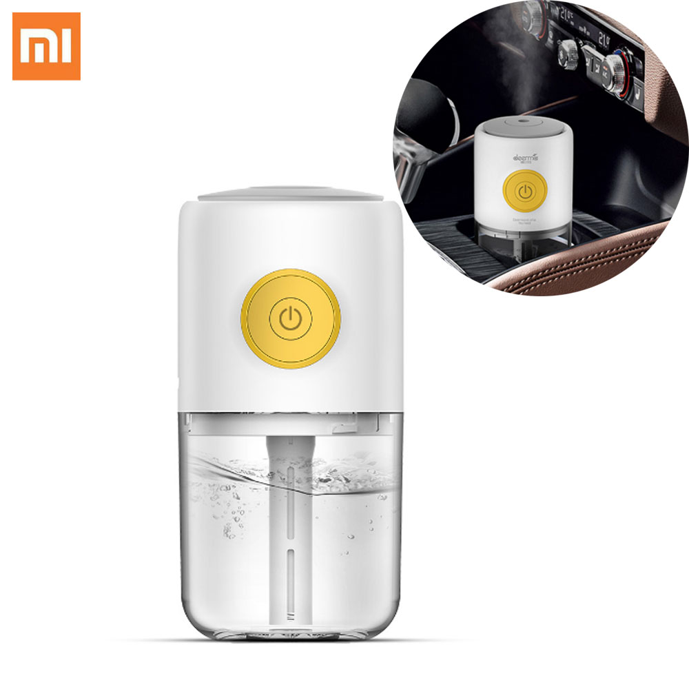 Xiaomi Mijia Deerma USB Incense Humidifier Mute Mini Aroma Humidifier Bedroom Atmosphere Light Car Hydrating Portable For Office